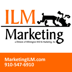 ILM Marketing logo and contact information