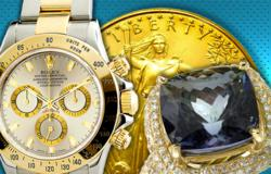 Rare Gold Coins, Slots and Luxury Watches