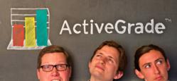 Dan Sweeney, Riley Eynon-Lynch, and Michal Eynon-Lynch - Co-Founders of ActiveGrade