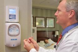 Proventix nGage RFID hand-hygiene quality monitoring system