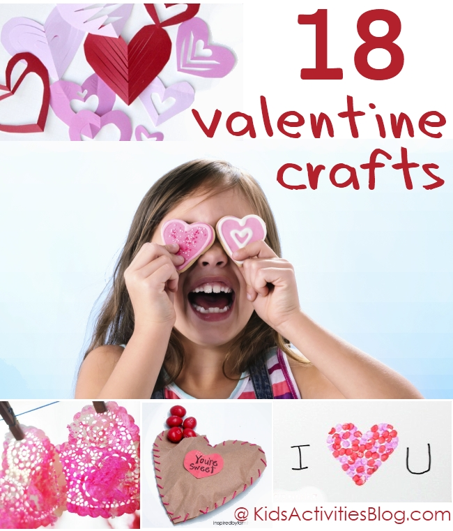 Fun And Easy Valentines Crafts For Kids, Great Valentines ...