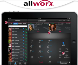 allworx, pbx phone system, sip, sip phone, voip phones
