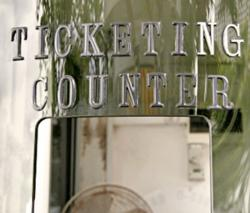 Bus ticketing counter