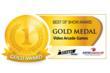 BMIGaming.com - 2013 Best Of Show Arcade Machine Awards - Gold Medal - Video Arcade Games