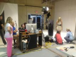 Sneak peek at Pretty Maids fall collections photo shoot.
