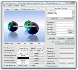 3D Flash Intro Software