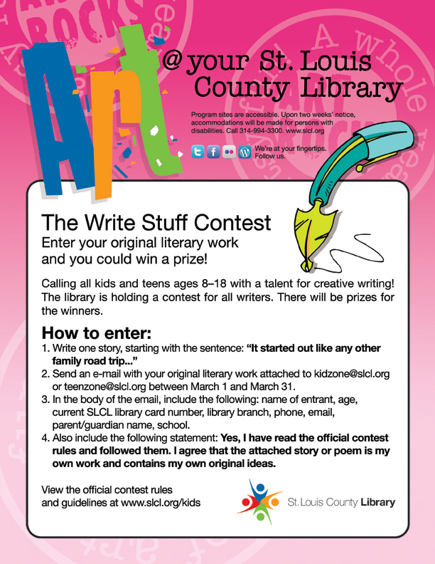 writing contests teens These writing contests for teens are a great way to earn a little extra cash and experience checkout the rules and submission info here.