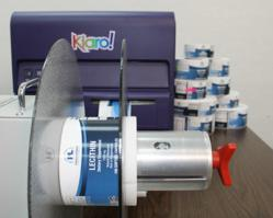 Progressive Labs prints supplement labels for over 270 different products using the Kiaro! inkjet label printer