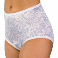 Floral Incontinence Panty from Wearever