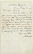 ABRAHAM LINCOLN. Autograph Letter Signed, May 16, 1864, to raise money for Union soldiers.