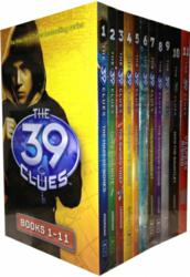 The 39 Clues Collection 11 books Set pack plus 66 digital game cards