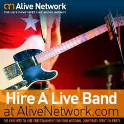 Hire a live band at AliveNetwork.com