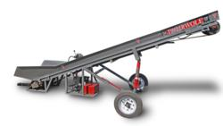 TW-C12 Firewood Conveyor Side View
