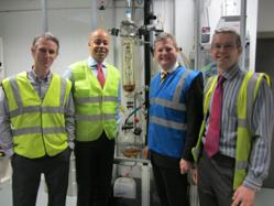 MP Stuart Andrew visits Vickers Laboratories