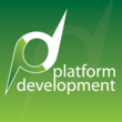 Platform Development, Inc. logo and description: Platform Development, Inc. is a software development and hardware design company that makes innovative, fun, and easy-to-use products.