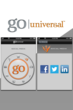 Image of the Social Media feature in the Go Universal app