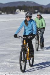 Winter mountain biking in the Adirondacks