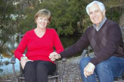 Mimi and Phil Drew celebrate the Valentine's Hilton Head Health in honor of their weight loss success