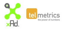 xAd and Telmetrics Logos
