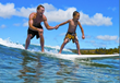 Surfing in Costa Rica on a family vacation