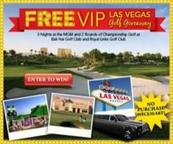 Free Las Vegas Golf Vacation