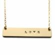 The Gold Nameplate Necklaces have been a huge success, LOVE has been a best seller!