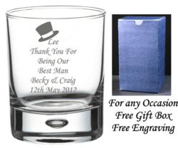 personalised engraved gifts whisky glass gifts