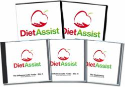 DietAssist is available as a 2 DVD, 3 CD set as well as online