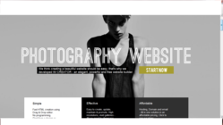 IM creator's photography websites section