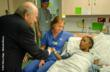 FIFA President Joseph S. Blatter Makes Surprise Visit to the Mercy...