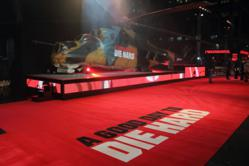 CTN Exhibitions Ltd Red Carpet at A Good Day to Die Hard Premiere