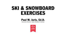 Ski exercise video