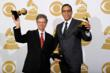 Grammy winners Chick Corea and Stanley Clarke at 2012 54th Annual Grammy Awards