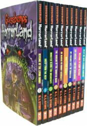 Goosebumps HorrorLand Series 10 Books Set Collection Pack
