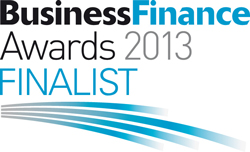 The Business Finance Awards Finalist
