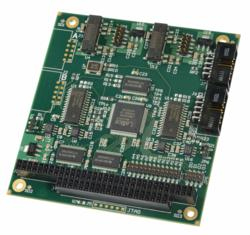 WinSystems' PC/104-compliant, dual channel, isolated Controller Area Network (CAN) module