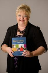 Pam Mathis, English instructor has written her first textbook.