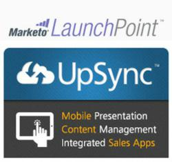 UpSync tile in the Marketo LaunchPoint
