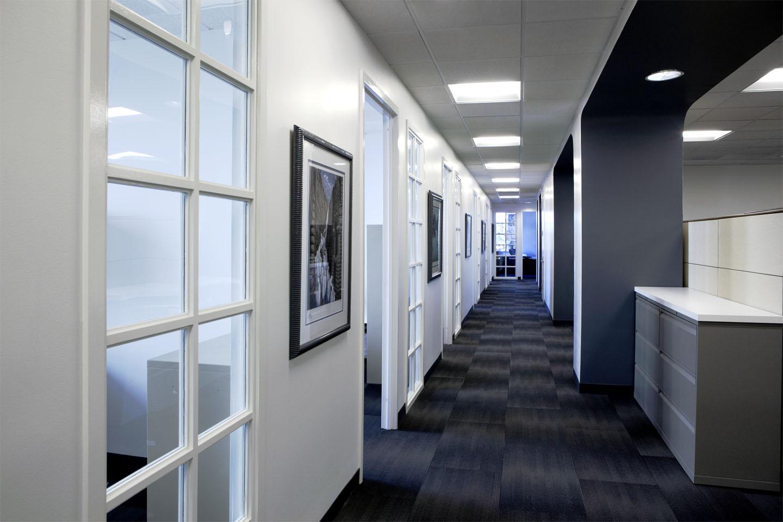 Office hallway for Office hallway design