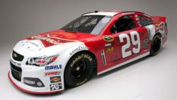 NASCAR, RCR vehicle wrap