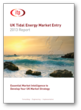 Cover for IT Power's UK Tidal Energy Market Entry 2013 Report