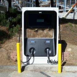 Blink DC Fast Charger at SDSU