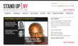Introducing the new Stand Up NY site.