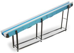 Cleaning time is saved with leg support design on DynaClean Conveyors