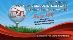 More 2 Life Charity Golf Classic fundraiser