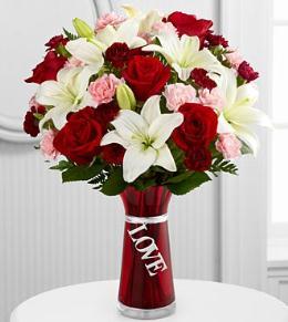 Expressions Of Love Valentine Flower Arrangement ...
