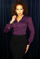 Women's Bespoke Shirt Collection featuring Tamara Tunie