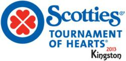 2013 Scotties Tournament of Hearts logo
