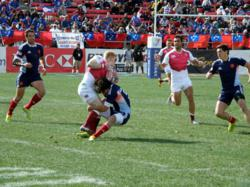 The 2013 Rugby Sevens event at Sam Boyd Stadium in Las Vegas.