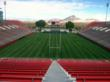 Sam Boyd Stadium 3 days before the 2013 Rugby Sevens event in Las Vegas.